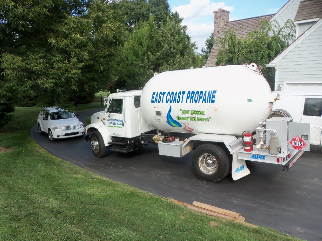 East Coast Propane Truck